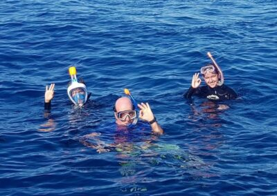 Snorkeling with Mokarran Dive Charters